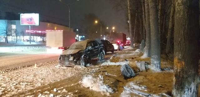Водитель Ford Escape погиб: подробности аварии на Большевистской
