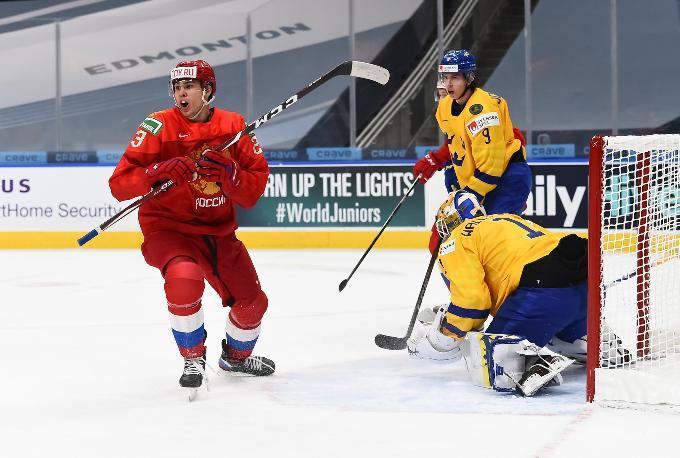 МЧМ-2021: все голы победного матча Россия-Швеция