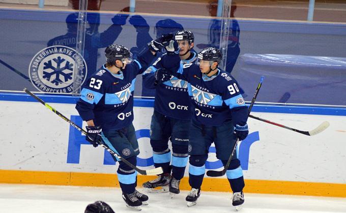 Второй матч «Сибирь» - «Амур»: победа осталась за новосибирцами
