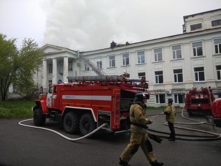 В Приморье после разрушительного пожара восстановлена больница