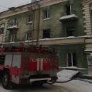 Пожар в трехэтажном доме стал причиной гибели человека в Новосибирске