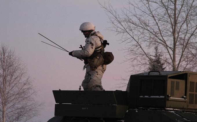 Новосибирские военные установили связь по секретному каналу