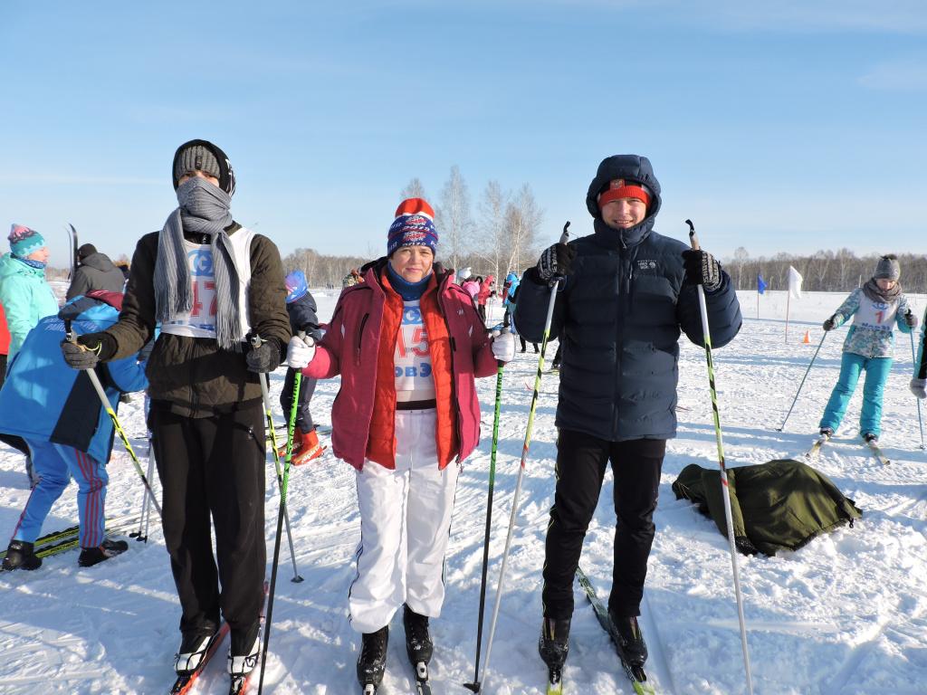 Морозы не помешали лыжным гонкам в Искитимском районе