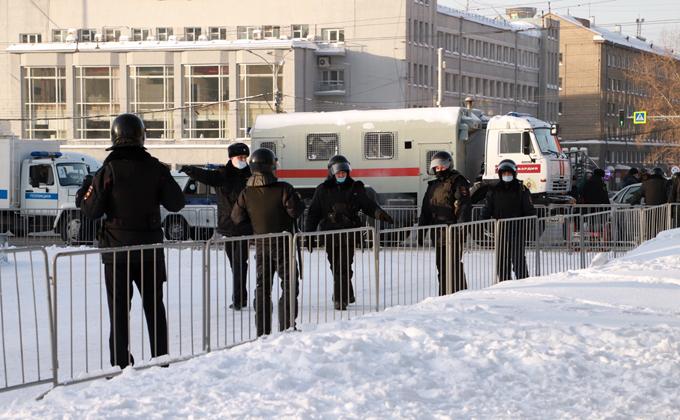 Центр Новосибирска перекрыт на пять часов 31 января