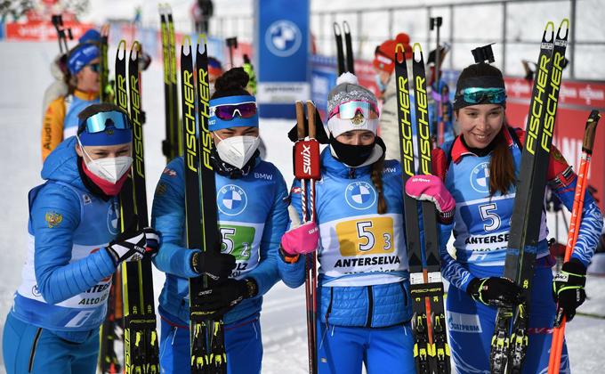 Новосибирская биатлонистка Евгения Павлова выиграла золото Кубка мира