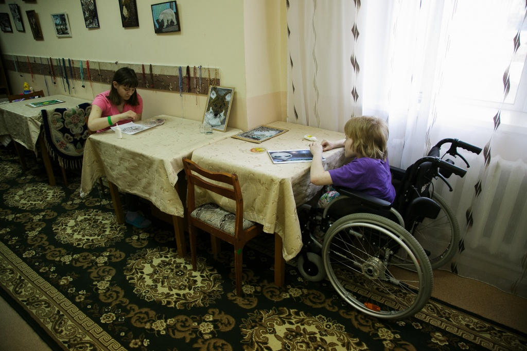 Родители детей-инвалидов встали на защиту Ояшинского дома-интерната