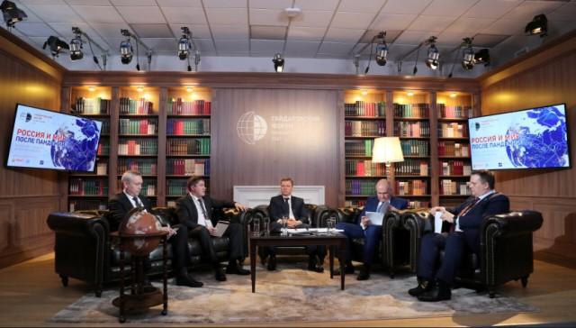 О бюджете развития региона на Гайдаровском форуме рассказал губернатор