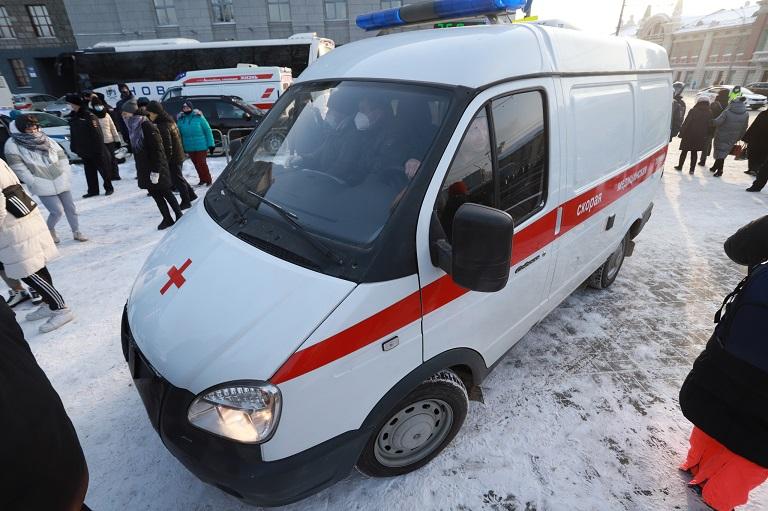 Сотрудники полиции спасли жизнь одному из протестантов в Новосибирске
