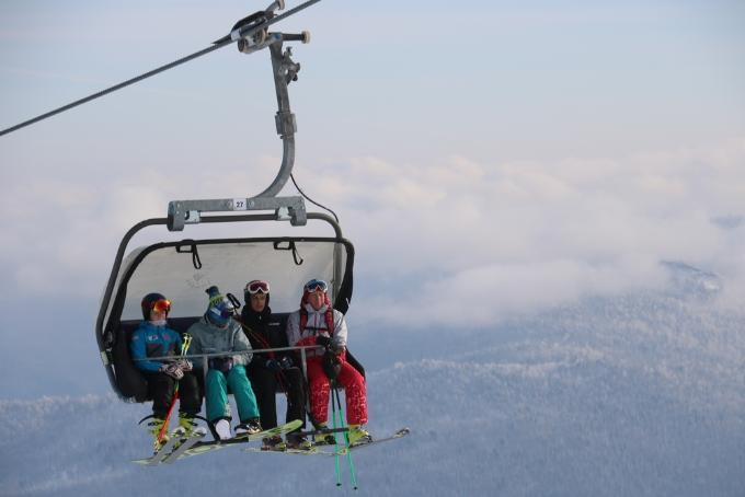Всепогодный подъемник для горнолыжников построят в Шерегеше