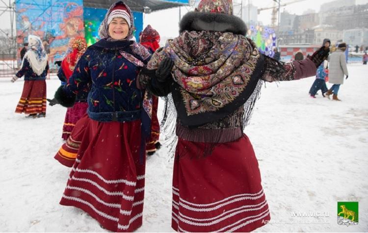 Рождественские гуляния пройдут во Владивостоке