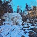 «Вот она - божественная красота»: ледяной водопад растопил сердца приморцев
