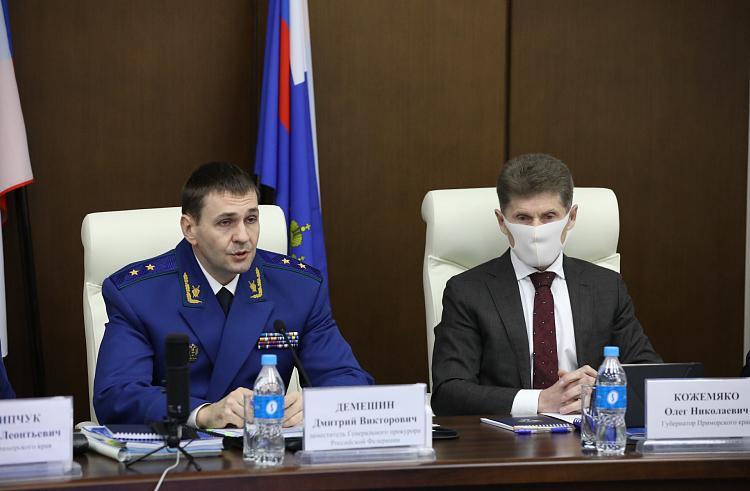 Приморская прокуратура возьмёт на контроль социальные вопросы края
