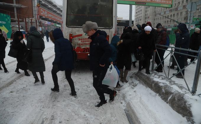 Сретенские морозы до – 33 подбираются к Новосибирску