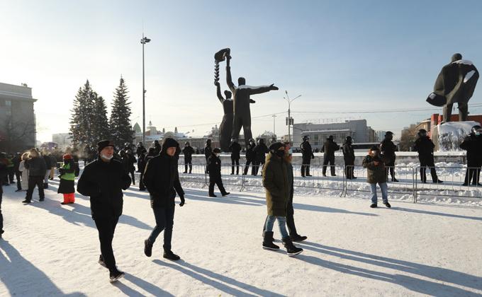 Без поддержки оказались организаторы незаконных акций в Новосибирске