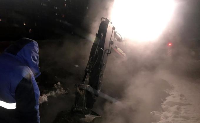 МЧС устраняет аварию в Куйбышеве: замерзают жители более 100 домов