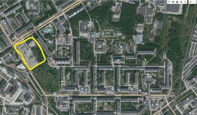 Сквер на Демакова в Академгородке будет построен быстро и по закону