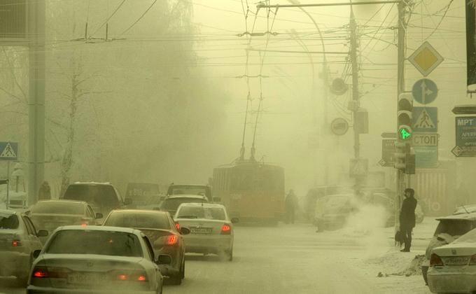 МЧС предупреждает: морозы усилятся на выходных в Новосибирской области