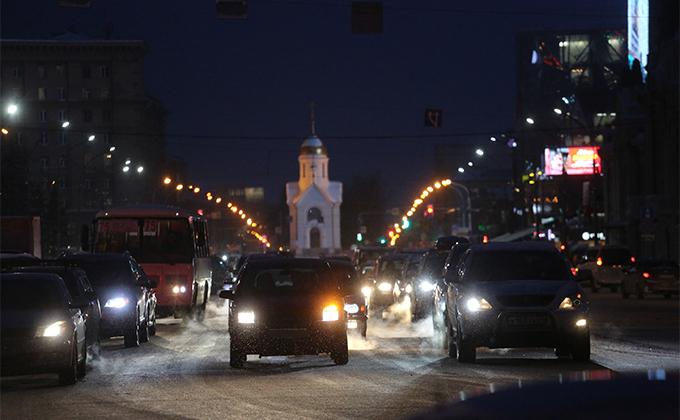 Как ловят сбежавших с места ДТП водителей в Новосибирске