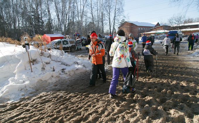 Как бесплатно добраться на «Лыжню России-2021» в Новосибирске