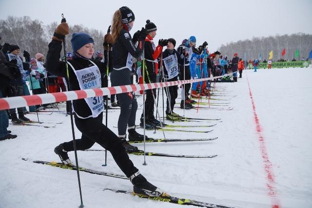 Романтичный старт «Лыжни России-2021» состоялся в Новосибирске
