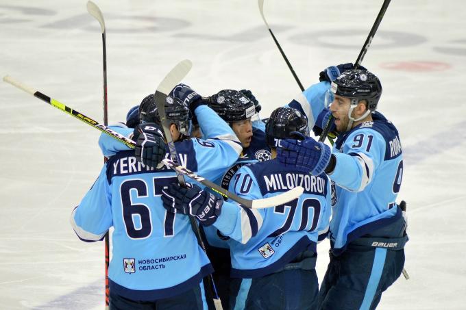 «Сибирь» одержала четвертую победу подряд в КХЛ и заняла девятое место на «Востоке»