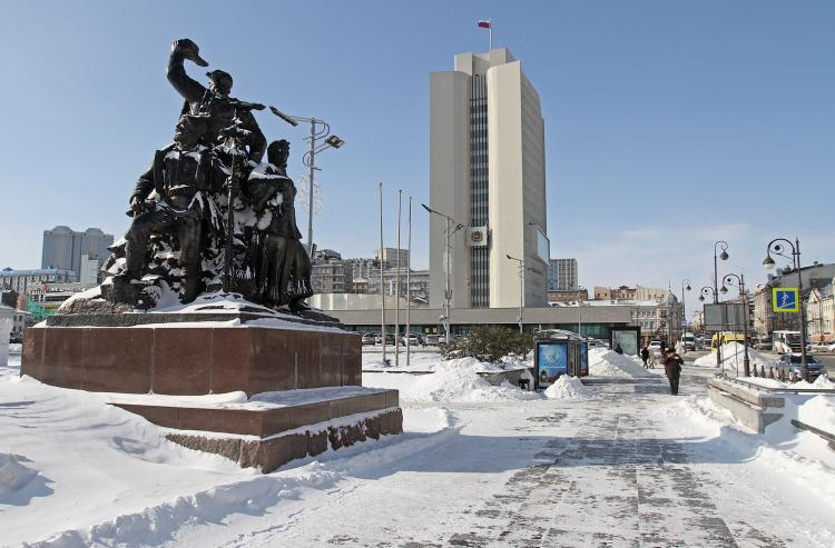 Снег и похолодание: первые выходные февраля не порадуют приморцев