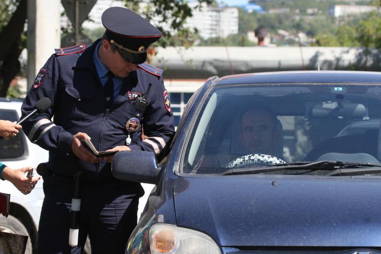 Полсотни пьяных водителей поймали за выходные в Приморье