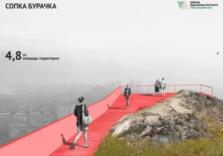 Концепцию развития сопки Бурачка обсудили с жителями Владивостока