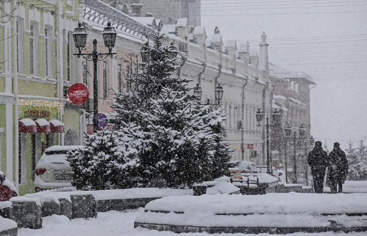 На Владивосток может обрушиться 30-ти часовой снегопад