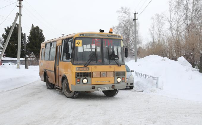 Распутица не позволила довезти 32 ребенка в школы Новосибирской области