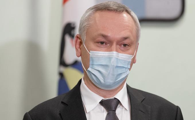 Губернатор Андрей Травников официально продлил масочный режим