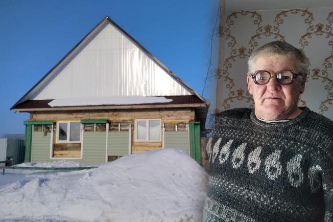 Дедушка в очках спас двух детей на пожаре в селе Абрамово