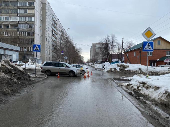 Детское кресло не уберегло школьницу в ДТП с такси на улице Московской