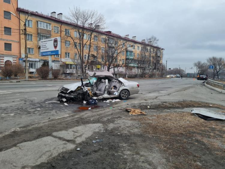 Сотрудники Госавтоинспекции разыскали виновника жёсткого ДТП в Приморье