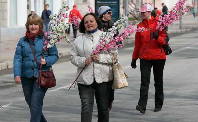 Погода на 1 мая в Новосибирске: дожди, грозы и ветер