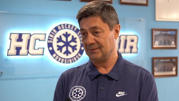 Новый тренер  ХК «Сибирь» Андрей Мартемьянов: «Желание работать - сумасшедшее»
