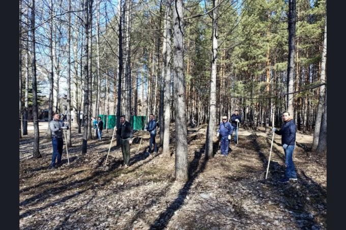 Особое внимание уделили объектам для голосования по благоустройству на всероссийском  субботнике в Новосибирске