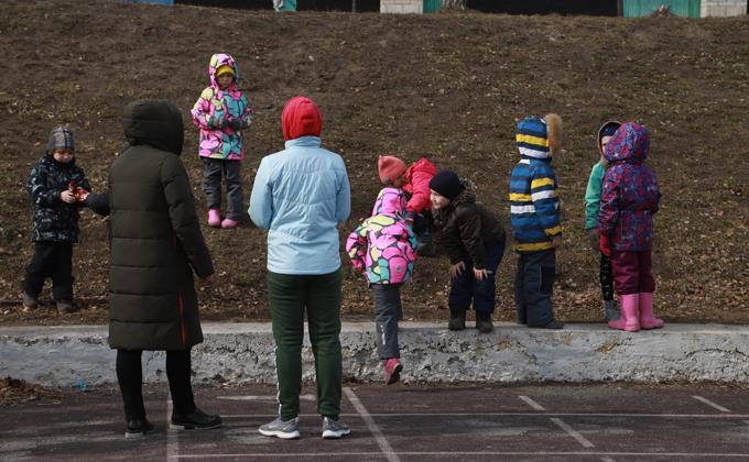 Детей эвакуируют из детсадов Новосибирска