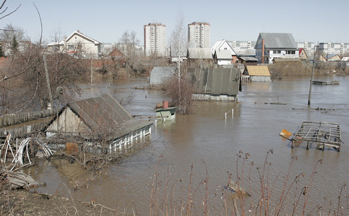 Более 5000 дач в зоне подтопления весной 2021 в Новосибирске