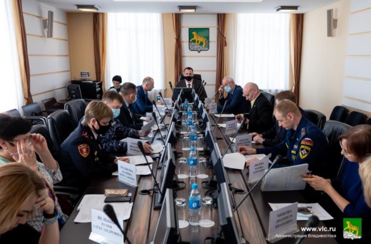 Вопросы антитеррористической безопасности обсудили во Владивостоке