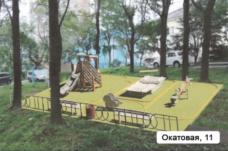 Ремонт дворов во Владивостоке на старте
