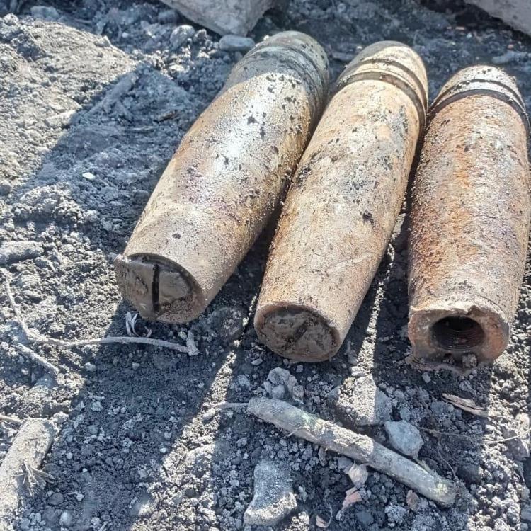 Владивостокцы продолжают находить боевые снаряды в привезенном грунте