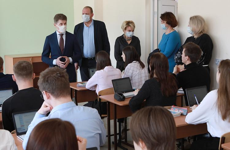 Олег Кожемяко отреагировал на опасения приморцев из-за строительства НЗМУ