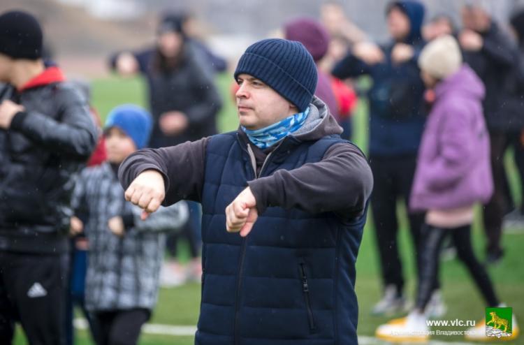 Жителей Владивостока приглашают на олимпийскую зарядку