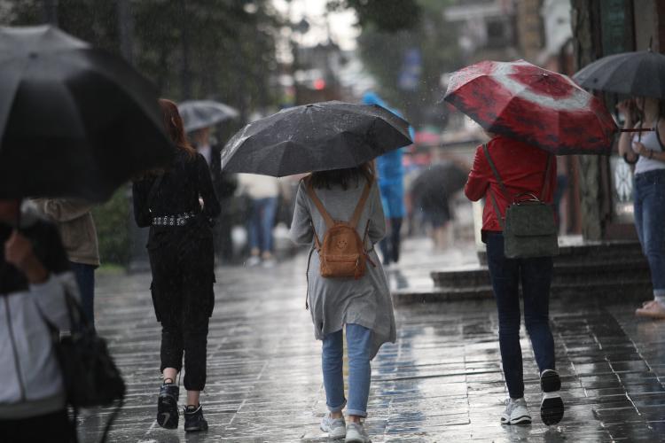 Дожди обрушатся на Приморье
