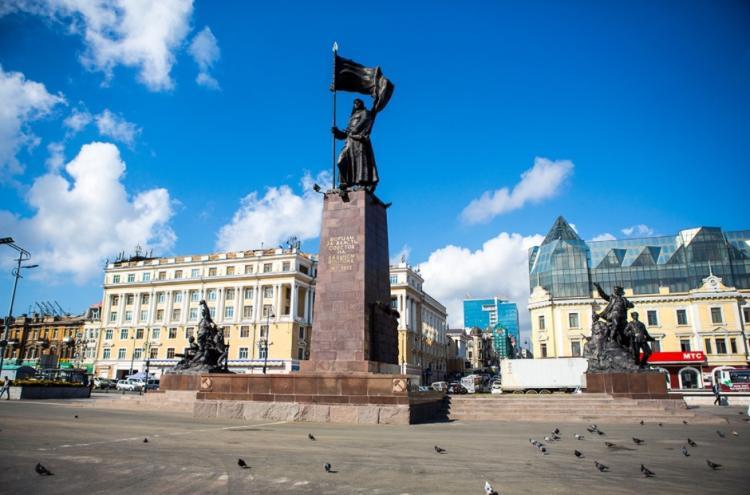Проекты благоустройства центральной площади обсудят с жителями Владивостока