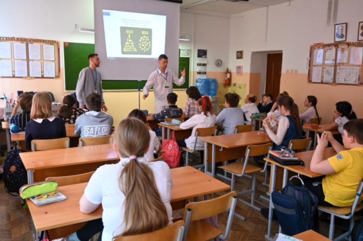 Школьники Владивостока изучают вопросы экологии