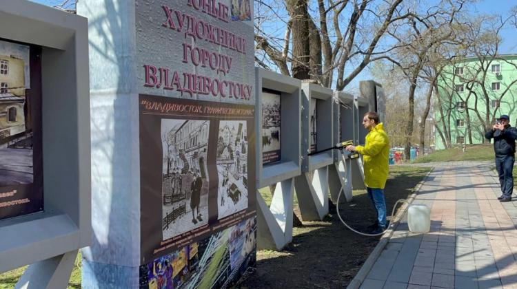 Во Владивостоке готовится к открытию уличная выставка «Без срока давности»