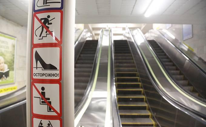 Первые эскалаторы из Швейцарии привезли для станции метро «Спортивная»