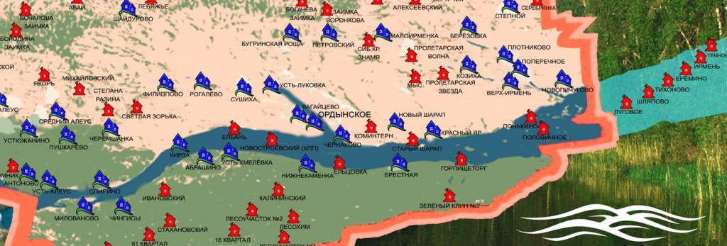 Карта затопленных деревень: что покоится на дне Обского моря